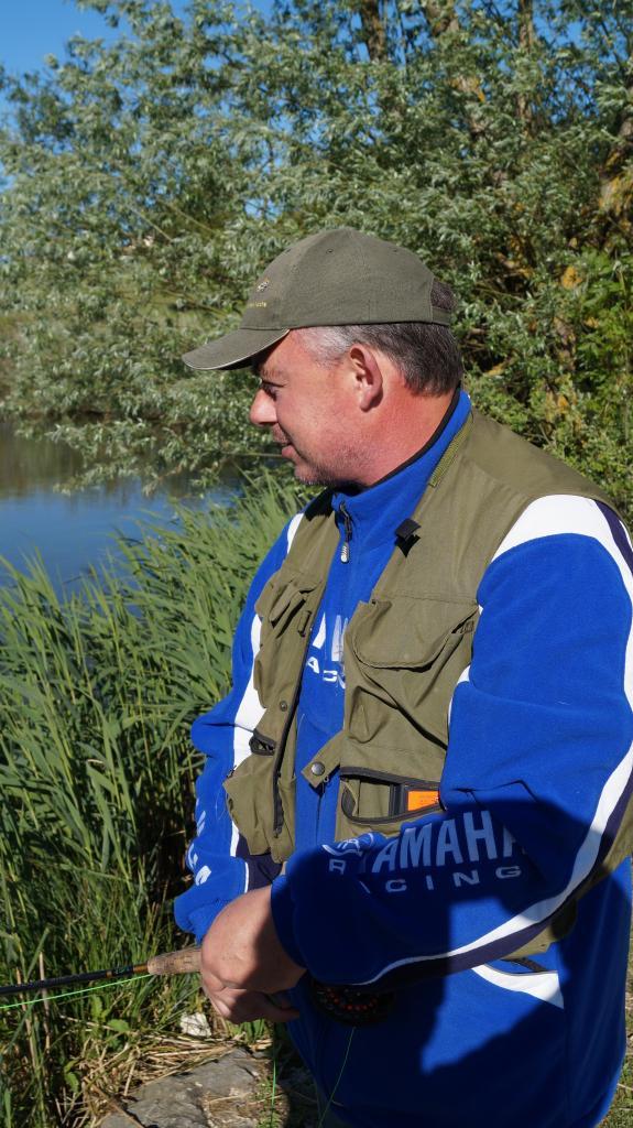 Patrick en action de pêche