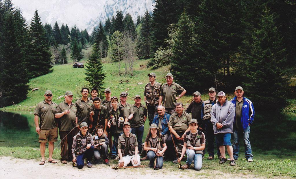Photo des membres présents