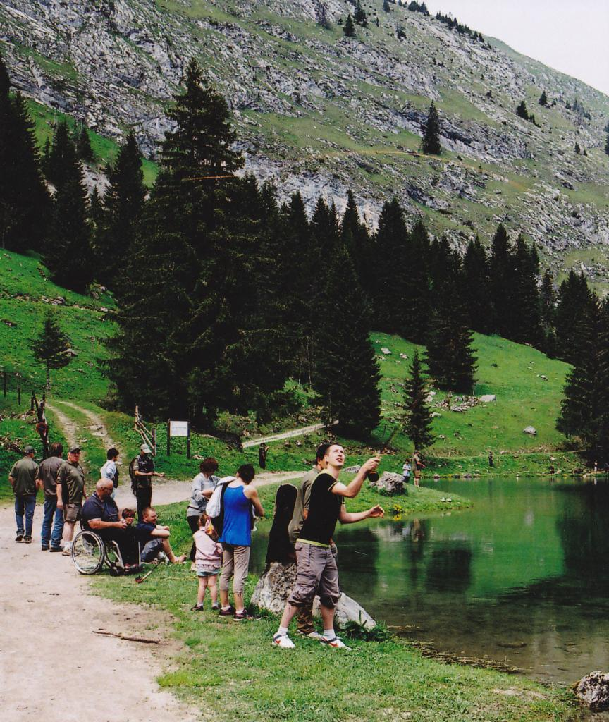 Initiation de pêche à la mouche en lac de montage